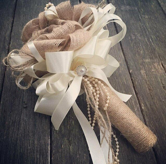 1015 20 25 38mm Natural Jute Hessian Burlap Ribbon Rustic for Wedding Floristry Crafts DIY
