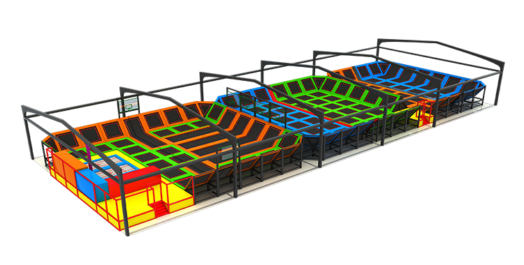 Wholesale Custom Large Indoor Trampoline Park Commercial Trampoline For Sale