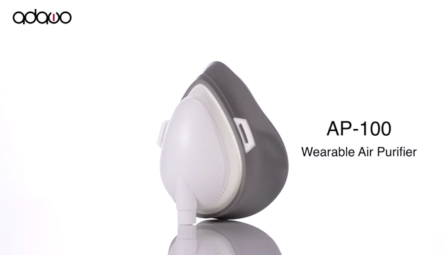 High quality wearable masking pre-filter hepa filter portable personal air purifier