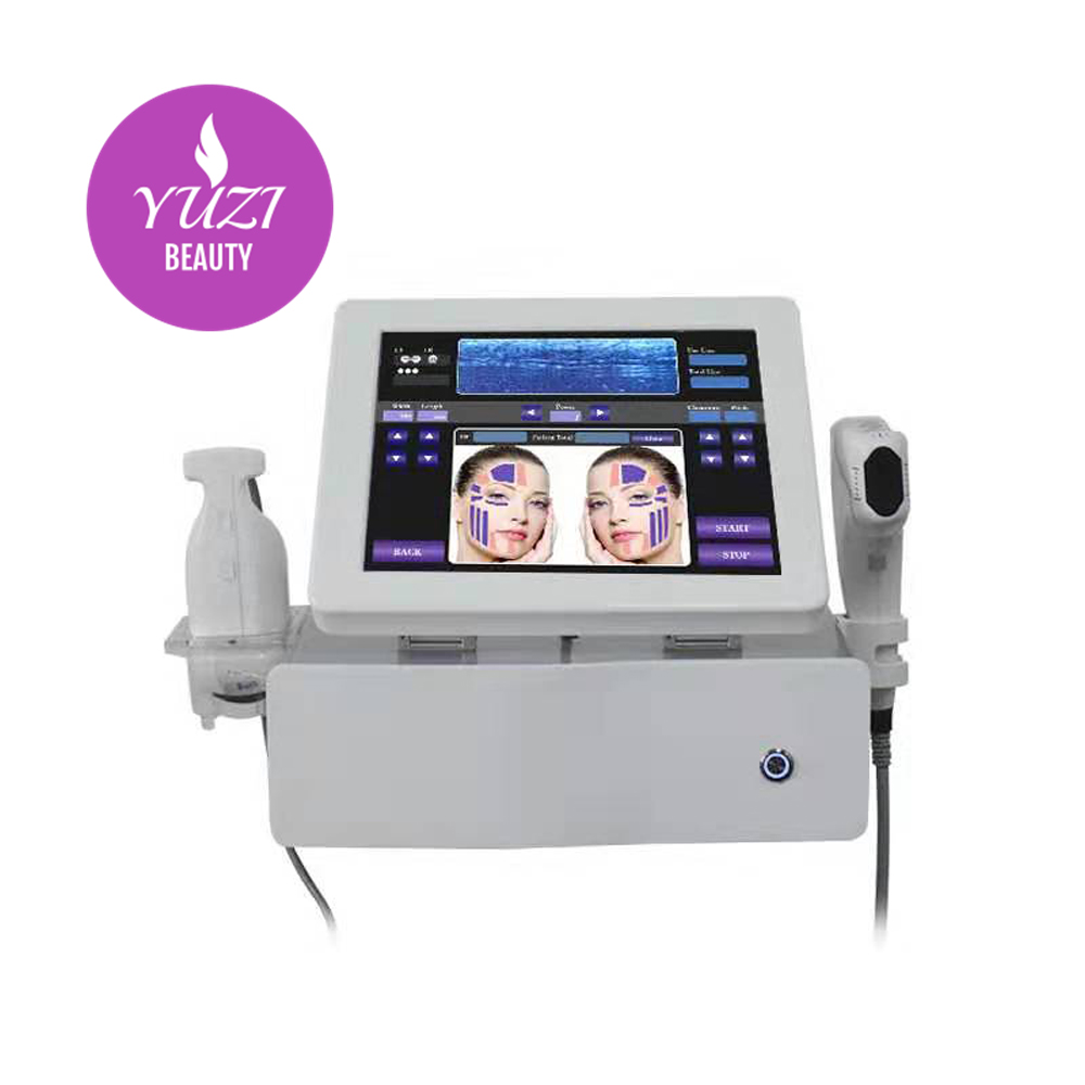 the new 2 in1 4D hifu and liposonic machine