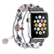 Ремешок-браслет для часов Apple watch 2 5 4 band 44 мм 40 мм ручной работы женские Ремешки для наручных часов iwatch 3 2 1 band 42 мм 38 мм аксессуары(China)