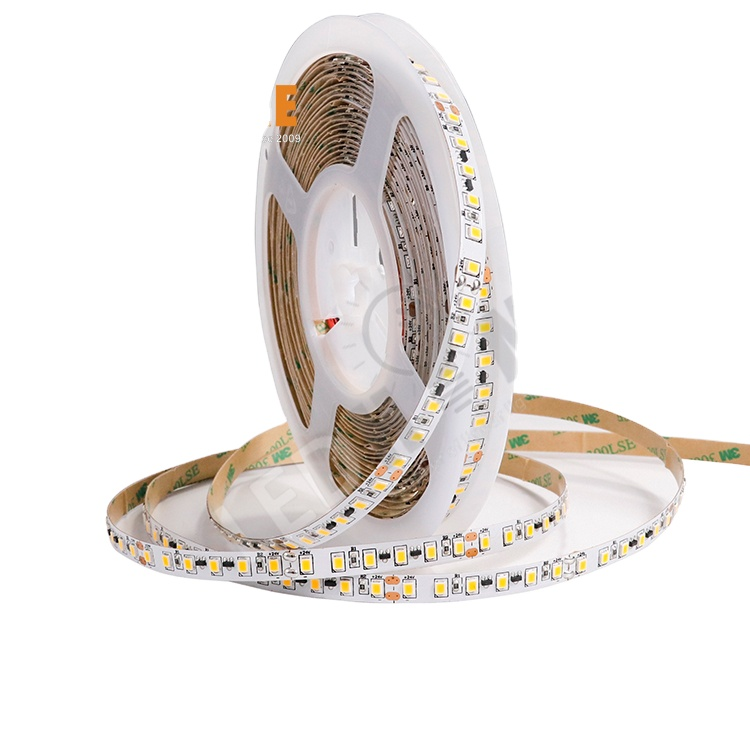 Hot Sale SMD2835 120leds/m 12W/m White Color IP20 led strip light for aluminum profile