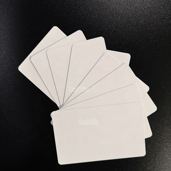 90*140mm high quality  blank digital inkjet printing card plastic pvc  cards for pvc card printer