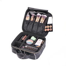 NCB0173 pu leder reise make-up fällen <span class=keywords><strong>mit</strong></span> partition platte individuelles make-up tasche