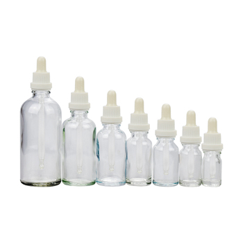 skin care clear essential oil glass dropper bottle 5ml 10ml 15ml glass bottle