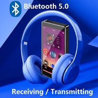 Newest RUIZU H1 Bluetooth MP4 Player 4.0 inch Full Touch Screen FM Radio Recording E-book Music Video Player Built-in SpeakerD20