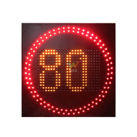 10 Years Factory Wholesale Price Road Safety High Way Variable Speed Limit Sign Traffic Led Road Sign