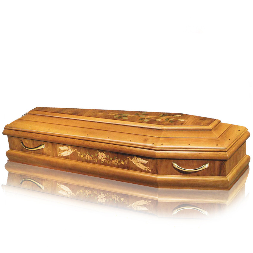 JS-IT018 cheap well designed coffin price
