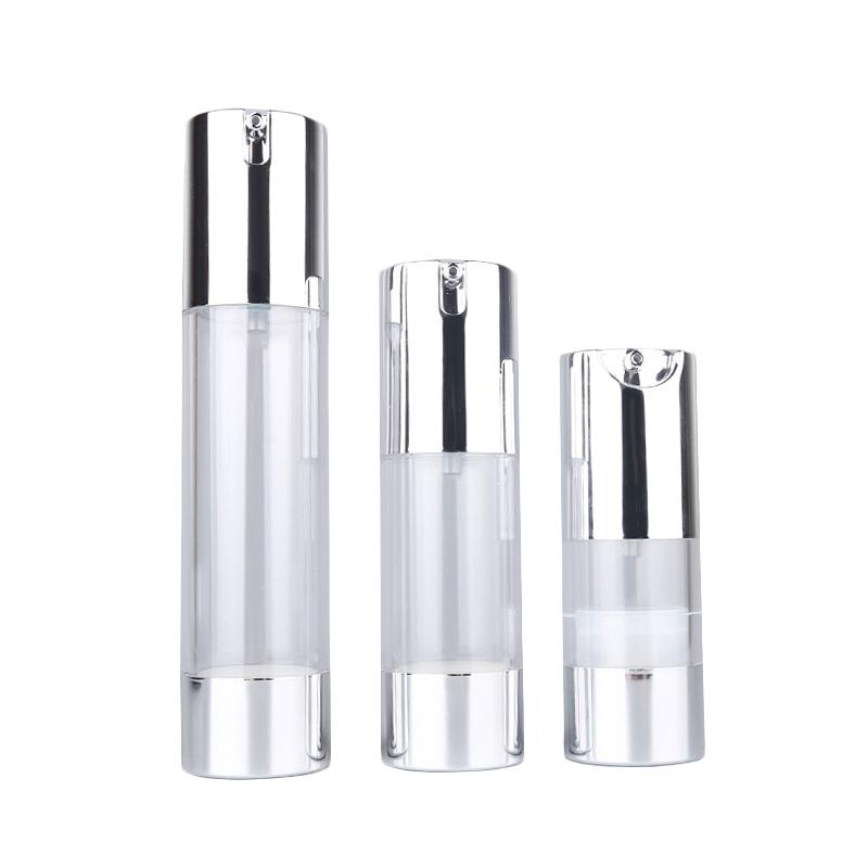 化粧品プラスチック空エアレスボトルとポンプ噴霧器