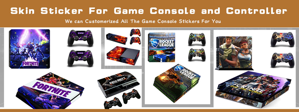 Sticker Cover Skin Vinyl Decal Wrap Voor Playstation 4 Slanke
