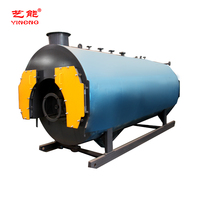 Horizontal Fully Automatic Commercial Natural Methane Gas Lng Lpg Biogas Fired Steam