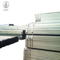 Professional factory pre galvanized pipe square/rectangular hollow section steel tube with prices