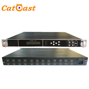 24 canali HD MI per IP In Diretta Streaming Video Encoder H 264 HD MI Encoder IPTV H264
