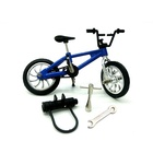 Mini Bike Finger Bike Excellent Functional Miniature Metal Toys Mini Sports Finger Bicycle Cool Boy Toy Creative Game Toys