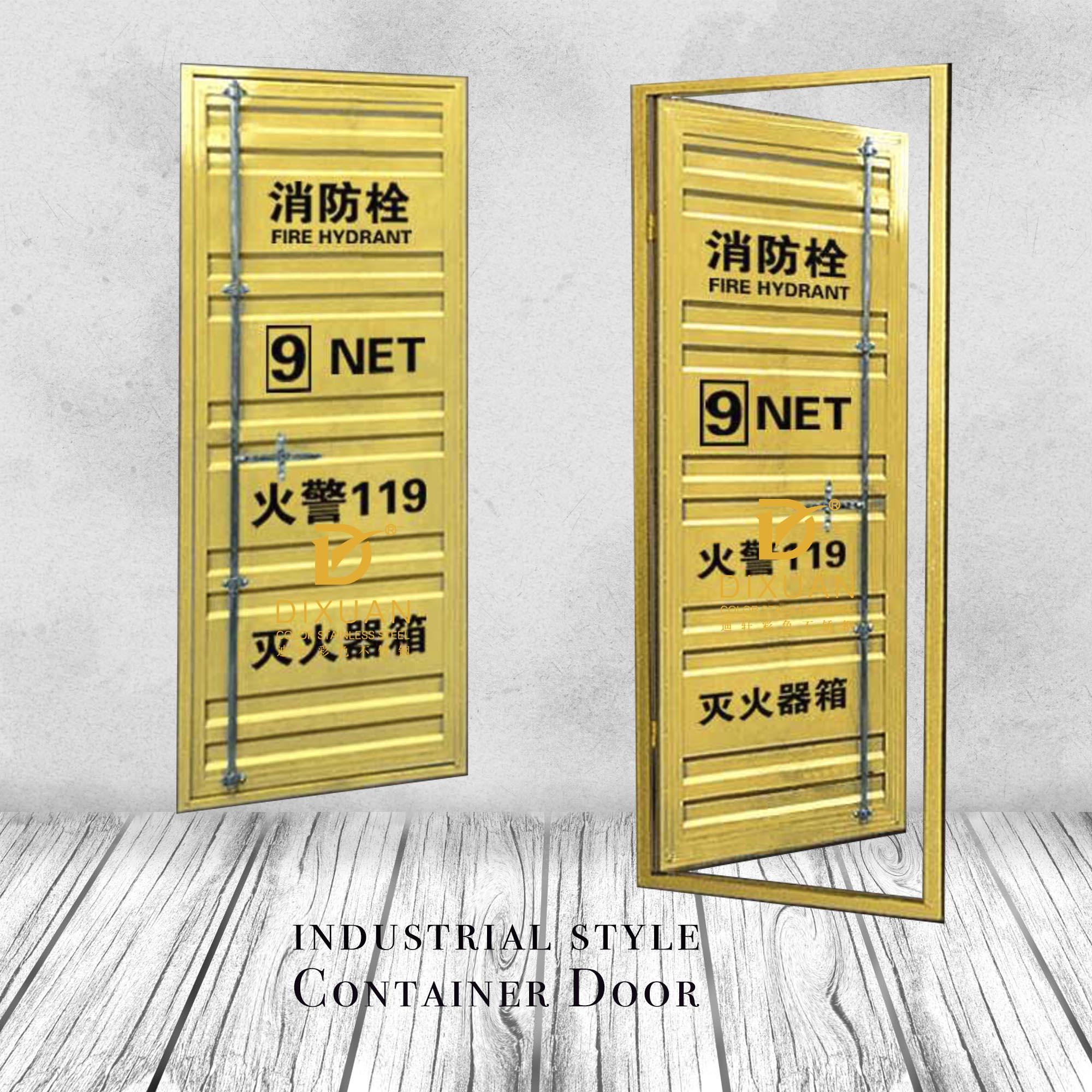 Venta Al Por Mayor Puertas Metalicas Decorativas Compre