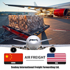 International shipping rates by air freight to USA