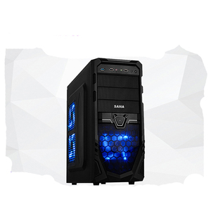 First horse destruction God chassis desktop computer game tower chassis power supply USB3.0 support large board