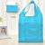 Wholesale Promotional Recycle Eco Friendly Reusable Grocery Tote Polyester Foldable Shopping Bag Accept Custom Logo