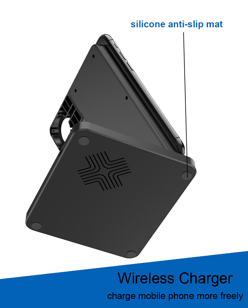 Multifunction qi wireless charger