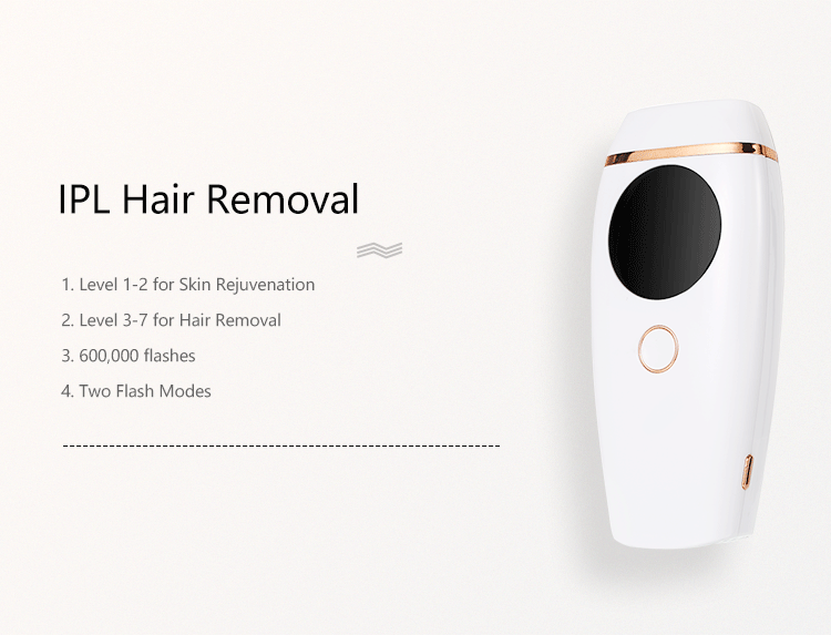 Homeuse Portable IPL Hair Removal Laser Permanent Hair Removal Device