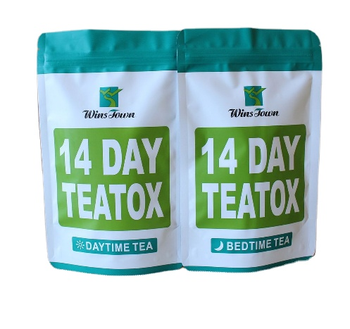 14 Day Skinny Detox Tea Private Label Service Slimming Tea for Colon Cleanse and Burn Fat Slimming Tea From Natural Healthy Herb - 4uTea | 4uTea.com