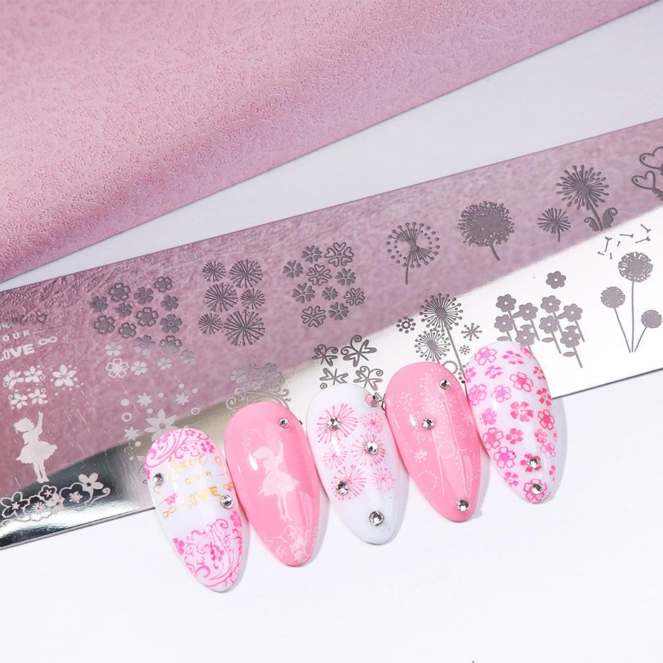 TSZS 2020 High Quality Professional DIY Nail Salon Products Metal Gel Nail Polish Stamp Plates Nail Art Stamping