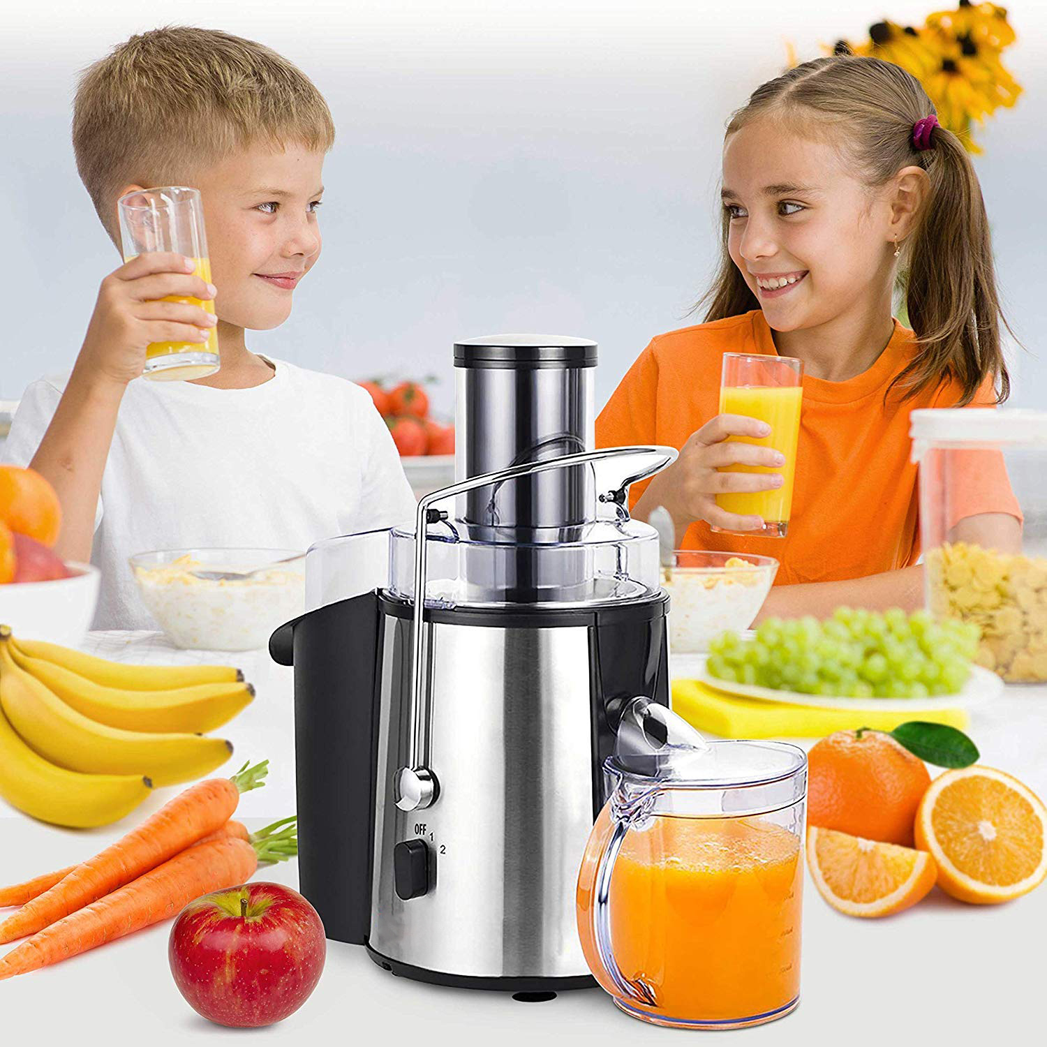 blender juicer electric home use multifunctional food processor Hot Selling 500ML Glass Bowl Multifunction Mini processor