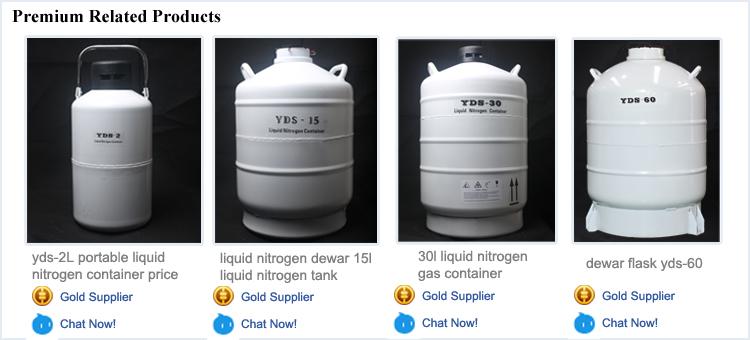 Taşınabilir 3l sıvı azot konteynerı yds 3l meni sığır sıvı azot tankı şişe