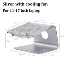 Подставка для ноутбука из алюминиевого сплава, держатель для планшета, настольная эргономика, повышенная поддержка ноутбука для MacBook Air Pro, о...(Китай)