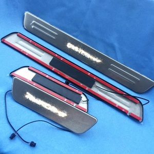 factory OEM door threhold guard for mazda3 led door sill scuff plate