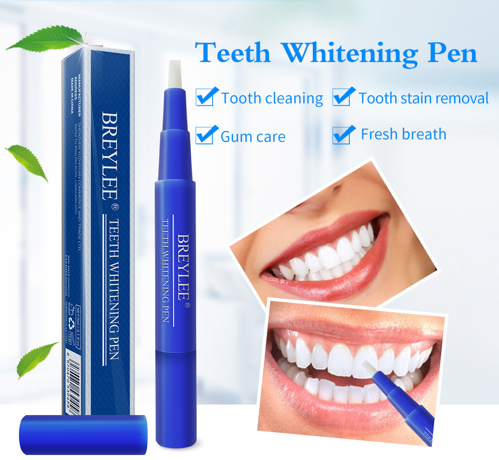 Breylee Teeth Whitening Pen Gel Teeth Stain Removing Pen View Pen