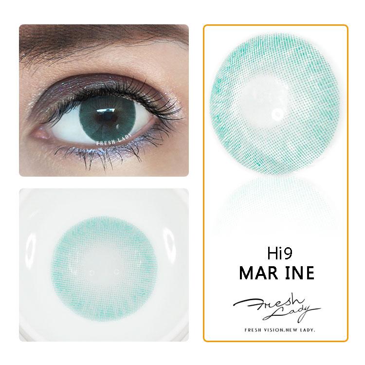 Fresco senhora atacado lente de contato cor de cosméticos naturais