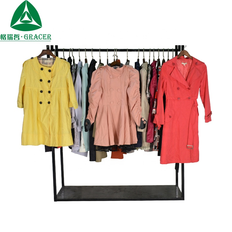 Winter Women Overcoat Used Clothes Brand Second Hand Clothes Malaysia