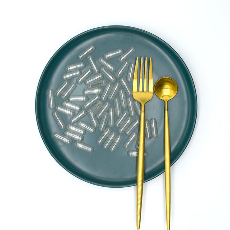 Organic Hpmc vegetarian capsules shell size 0# separated empty capsule 80000pcs