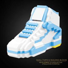 Balody Мини Строительные блоки обувь 18076 популярная известная марка спортивная баскетбольная обувь assemable bricks модель игрушки коллекция для под...(Китай)