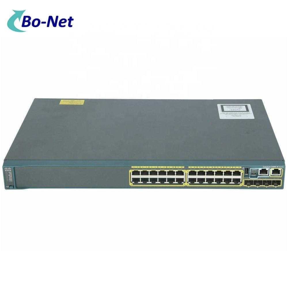 Used WS-C2960S-24TS-L 2960S <strong>24</strong> <strong>Port</strong> Gigabit 4 x SFP Ethernet Network Switch