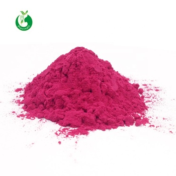 Organic red sugar beet root powder