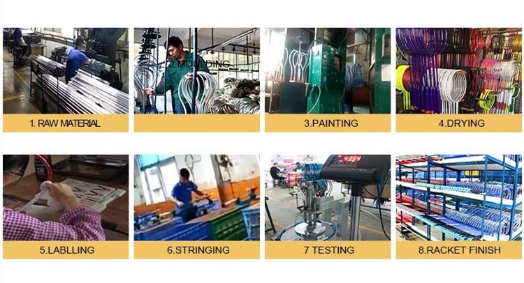 Custom Logo 2 Lichtgewicht Carbon Badminton Racket Joint Minder Een Stuk Racket Badminton Set Met Ballen