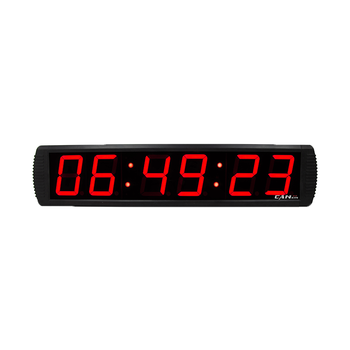 Ganxin Indoor 6Digits 4Inches Wall Digital Countdown Timer Programmable Countup Event Timer