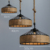 hemp ropes lighting for other hotel & restaurant pendant lamp supplies