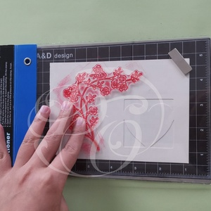 Patent Design Clear DIY Craft Tool Stamp Positioner