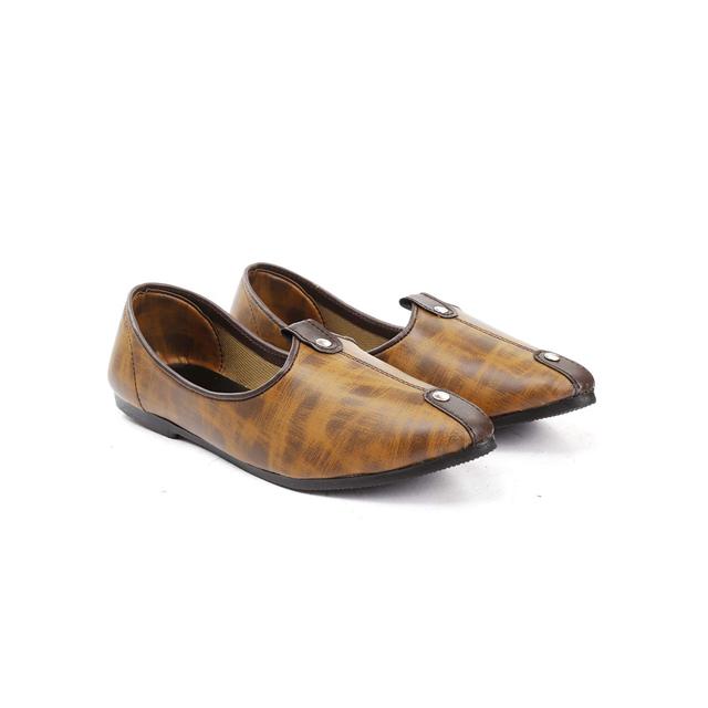 Leather Ethnic Jutti For Men - Buy Mens