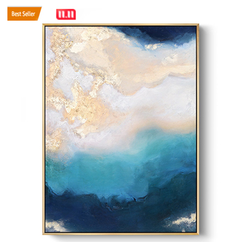Modern wall decoration art handmade oil painting abstract canvas painting