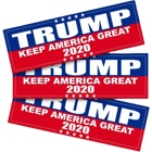 Waterproof Sticker Decorations Fast Delivery 2020 Donald Trump Vibrant Colored Waterproof Custom Removable Sticker For Decorations