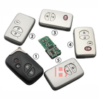 Auto Key 2-4 Button FSK 433mhz ID74 Chip Circuit Board Car Smart Key for toyota land cruiser middle east version