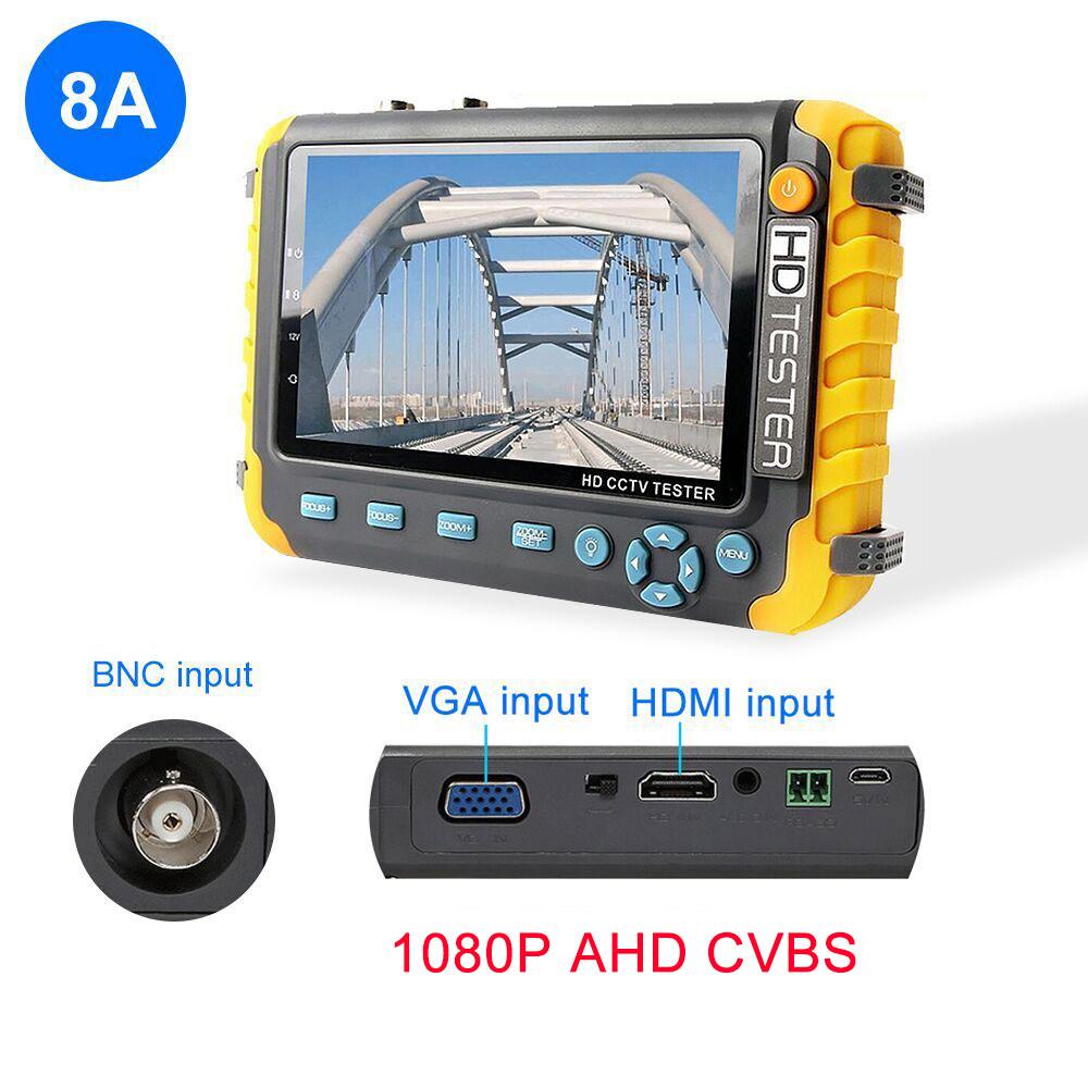 8MP CCTV тестер камера видео тестер ahd ip видео камера тестер Мини ahd монитор 4 в 1 с VGA HDMI вход камеры безопасности(Китай)