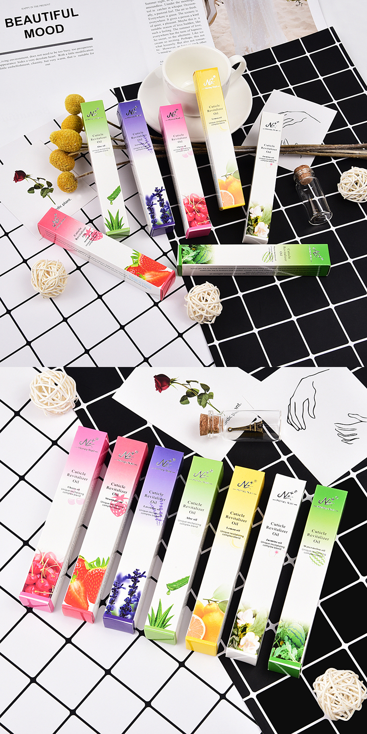 Organic scented flower nail cuticle oil treatment soft pen 5ml cuticle revitalizer oil pen custom private label nail cuticle oil