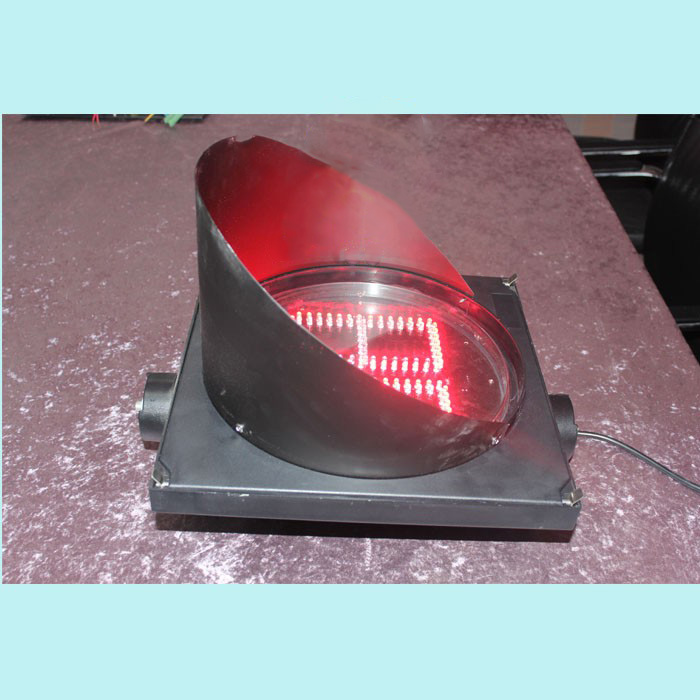 New arrival two digitals hot selling 300mm round countdown timer LED traffic signal light