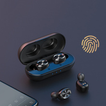 Sweatproof 5.0 blue tooth in-ear <span class=keywords><strong>cuffie</strong></span> <span class=keywords><strong>ce</strong></span> rohs fcc certificato auricolare bluetooth
