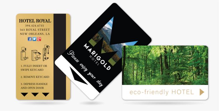 높은 보안 호텔 문 잠금 PVC RFID 객실 키 카드